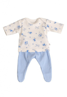 Premature baby clothes - blue toy box theme 1.5 - 2kgs