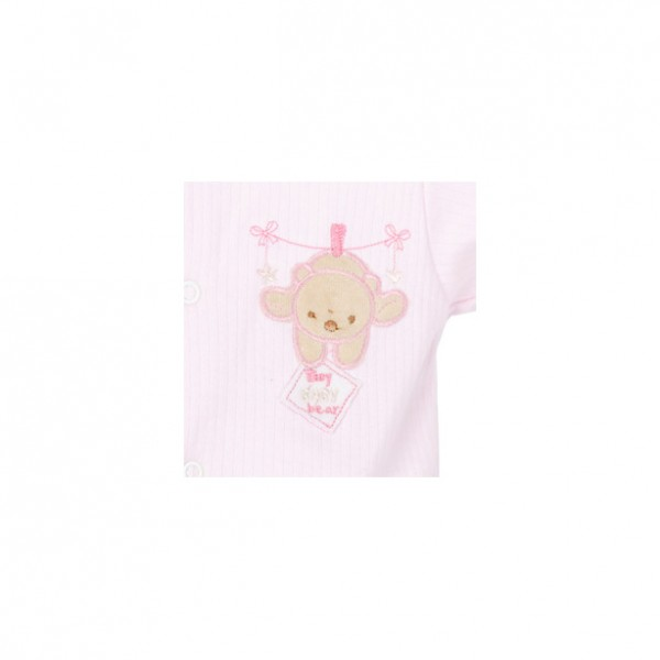 Premature Baby Gifts Australia : Pink hanging bear sleepsuit kg nashi baby
