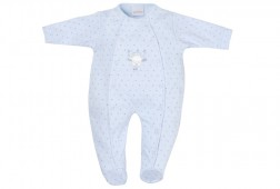 T Bear Blue Star Print