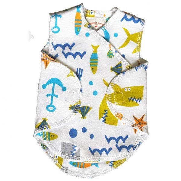 Sea Life Nicu Wrap Vest Hat 1 5 2 8kg Nashi Baby