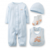 Premature Baby Gift Set - Blue Own Motif size 00000 and size 000000