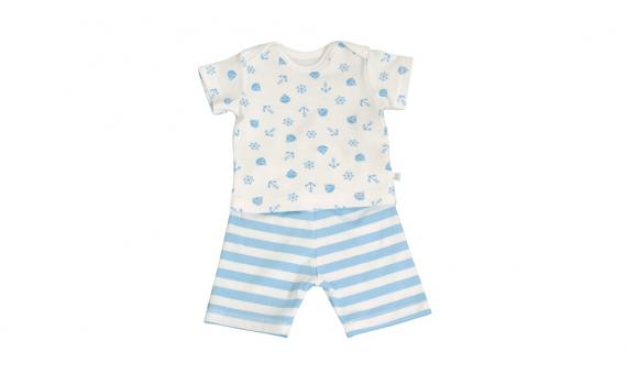 1.5-2.5 kilogram premature baby - blue sailor baby boy gift