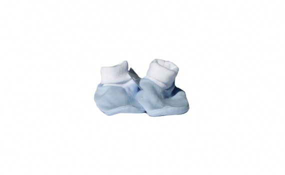premmie baby gifts - blue booties